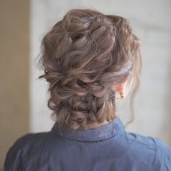 ロング ヘアアレンジ 結婚式 ゆるふわ ヘアスタイルや髪型の写真・画像