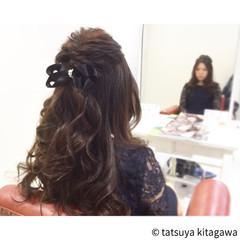 ヘアアレンジ 大人女子 フェミニン 花嫁 ヘアスタイルや髪型の写真・画像