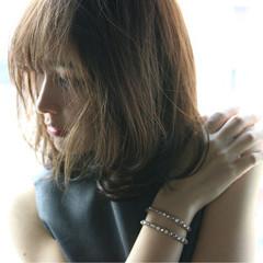 フェミニン 外国人風 レイヤーカット コンサバ ヘアスタイルや髪型の写真・画像