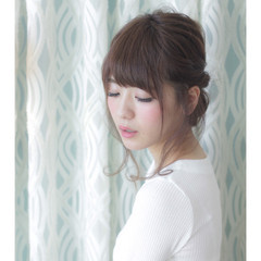 イルミナカラー 女子会 ロング ヘアアレンジ ヘアスタイルや髪型の写真・画像