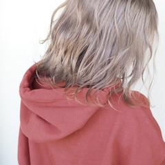 アウトドア こなれ感 スポーツ 外ハネ ヘアスタイルや髪型の写真・画像