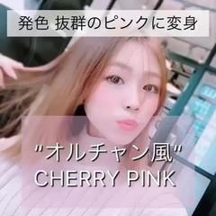 韓国ヘア 韓国風ヘアー インナーカラー ピンクカラー ヘアスタイルや髪型の写真・画像