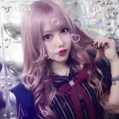 ピンク フェミニン ロング ピンクベージュ ヘアスタイルや髪型の写真・画像