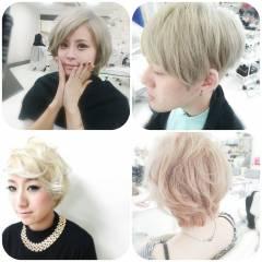 外国人風 ストリート 黒髪 グラデーションカラー ヘアスタイルや髪型の写真・画像