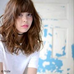 アッシュ 外国人風 ハイライト 大人かわいい ヘアスタイルや髪型の写真・画像