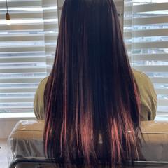 クールロング ロングヘアスタイル ロング エクステ ヘアスタイルや髪型の写真・画像