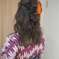ショート ヘアアレンジ ナチュラル 簡単ヘアアレンジ ヘアスタイルや髪型の写真・画像