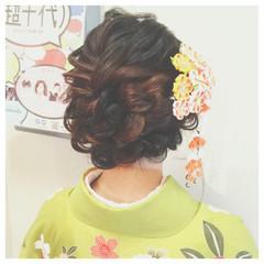 ヘアアレンジ ゆるふわ 簡単ヘアアレンジ 謝恩会 ヘアスタイルや髪型の写真・画像