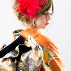 ストリート ヘアアレンジ 成人式 ロング ヘアスタイルや髪型の写真・画像