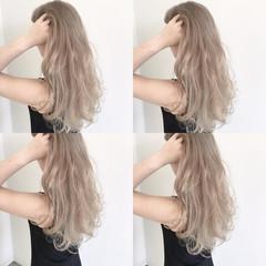 ロング 金髪 外国人風カラー ハイトーン ヘアスタイルや髪型の写真・画像