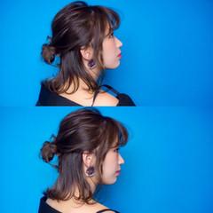 ハイライト ヘアアレンジ 外ハネ こなれ感 ヘアスタイルや髪型の写真・画像