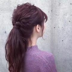 ナチュラル 表参道 アンニュイほつれヘア ロング ヘアスタイルや髪型の写真・画像