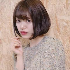 フェミニン ミニボブ ショートヘア ショートボブ ヘアスタイルや髪型の写真・画像