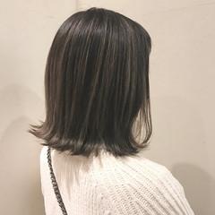 ナチュラル 外国人風カラー グレージュ アッシュ ヘアスタイルや髪型の写真・画像