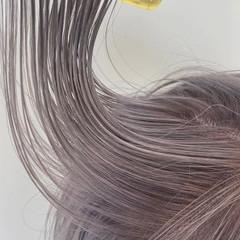 ミディアム ピンクベージュ お洒落 ナチュラル ヘアスタイルや髪型の写真・画像
