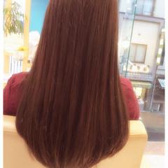 ロング ストレート ナチュラル 重ため ヘアスタイルや髪型の写真・画像