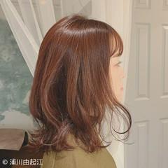 モテ髪 ロング 前髪あり ゆるふわ ヘアスタイルや髪型の写真・画像