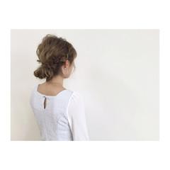 外国人風 ショート ヘアアレンジ 大人かわいい ヘアスタイルや髪型の写真・画像