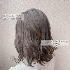 大人可愛い ボブ ヘアアレンジ アンニュイほつれヘア ヘアスタイルや髪型の写真・画像