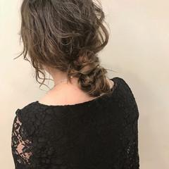 女子力 ロング ナチュラル パーティ ヘアスタイルや髪型の写真・画像