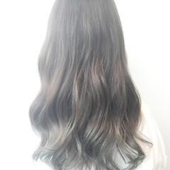 外国人風 グラデーションカラー ブルージュ ナチュラル ヘアスタイルや髪型の写真・画像