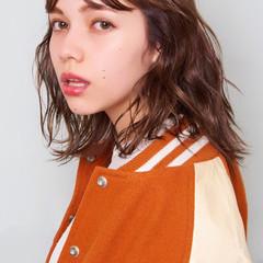 ピュア ストリート 外国人風 セミロング ヘアスタイルや髪型の写真・画像