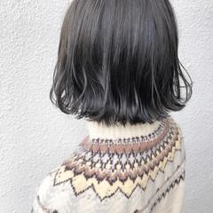 ミニボブ ナチュラル ショートボブ 外ハネボブ ヘアスタイルや髪型の写真・画像