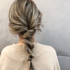 デート ヘアアレンジ フェミニン スポーツ ヘアスタイルや髪型の写真・画像