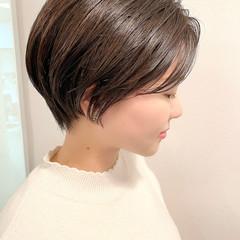 ショートヘア 大人かわいい ショートボブ デート ヘアスタイルや髪型の写真・画像
