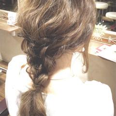 ヘアアレンジ アッシュ 外国人風 フェミニン ヘアスタイルや髪型の写真・画像