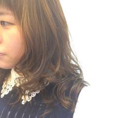 グラデーションカラー 外国人風カラー フェミニン ロング ヘアスタイルや髪型の写真・画像