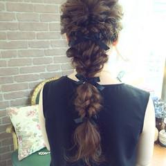 結婚式 外国人風 ロング 大人かわいい ヘアスタイルや髪型の写真・画像