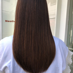 髪質改善安達瞭 髪質改善トリートメント ロング ナチュラル ヘアスタイルや髪型の写真・画像