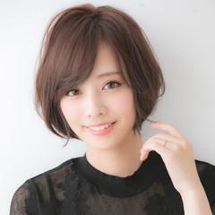 ショート ショートヘア アンニュイほつれヘア パーマ ヘアスタイルや髪型の写真・画像