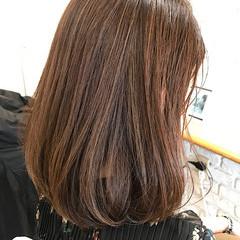 ナチュラル 透明感カラー 髪質改善 3Dハイライト ヘアスタイルや髪型の写真・画像