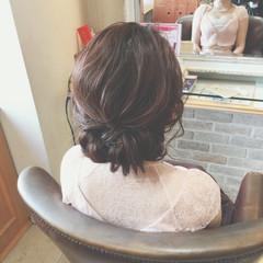 ヘアアレンジ まとめ髪 簡単ヘアアレンジ 大人かわいい ヘアスタイルや髪型の写真・画像