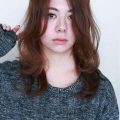 ロング ナチュラル 外国人風 ゆるふわ ヘアスタイルや髪型の写真・画像
