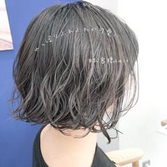 デート 大人かわいい ミニボブ ナチュラル ヘアスタイルや髪型の写真・画像