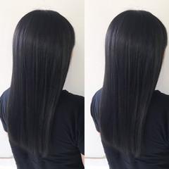 女子力 ロング ヘアアレンジ ストレート ヘアスタイルや髪型の写真・画像