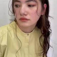 外国人風カラー ロング 大人可愛い インナーカラー ヘアスタイルや髪型の写真・画像