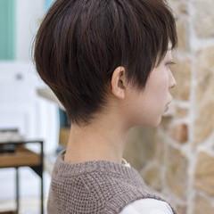 ベリーショート ショートボブ ショートヘア ミニボブ ヘアスタイルや髪型の写真・画像
