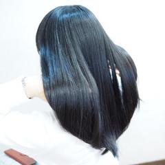 ロング 簡単ヘアアレンジ 時短 黒髪 ヘアスタイルや髪型の写真・画像
