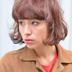 ストレート モード 外国人風 ウェーブ ヘアスタイルや髪型の写真・画像