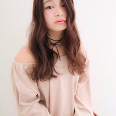 かわいい 抜け感 大人かわいい 透明感 ヘアスタイルや髪型の写真・画像