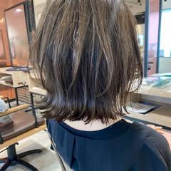 極細ハイライト ウルフカット くびれボブ ボブ ヘアスタイルや髪型の写真・画像