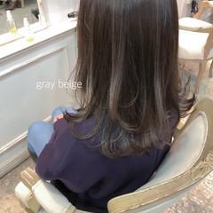 大人かわいい セミロング ヘアアレンジ ガーリー ヘアスタイルや髪型の写真・画像