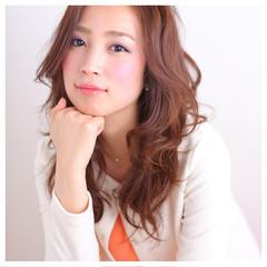 デジタルパーマ 簡単ヘアアレンジ 大人かわいい コンサバ ヘアスタイルや髪型の写真・画像