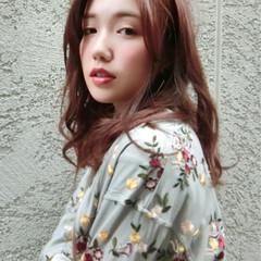 パーマ アンニュイ 前髪あり ロング ヘアスタイルや髪型の写真・画像