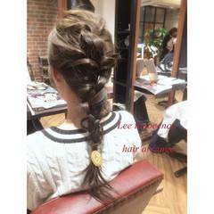 ミディアム ヘアアレンジ 外国人風 ショート ヘアスタイルや髪型の写真・画像