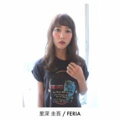 ストリート ミディアム マルサラ 外国人風 ヘアスタイルや髪型の写真・画像